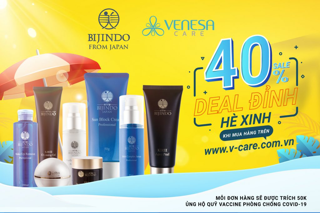 """Bijindo tung chương trình """"Deal đỉnh hè xinh"""" với ưu đãi tới 40%"""