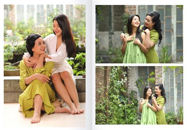 """NSƯT Chiều Xuân và con gái Hồng Khanh trong sách ảnh """"Làm đẹp - Hành trình bước ra ánh sáng"""""""